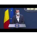 Briefing de presă susținut de ministrul sănătății, Vlad Voiculescu la finalul ședinței de guvern